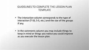 british council resources iii With british council lesson plan template
