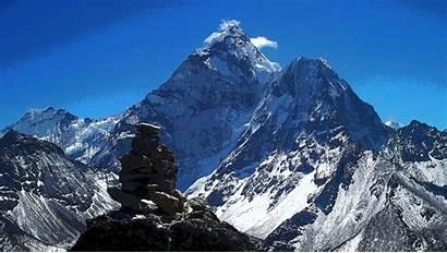Highest Manaslu Peaks Mountains Mount Mountain Mt