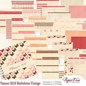 Agenda Planner 2018 : agenda e planner 2018 borboleta vintage no elo7 papier doux a025fe ~ Teatrodelosmanantiales.com Idées de Décoration