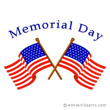 Memorial Day Holiday Clip Art