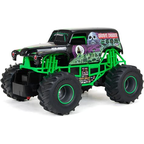 monster truck videos new bright 11 1 2 quot r c mud slinger ford f 150 walmart com