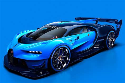 bugatti concept car bugatti vision gran turismo concept revealed