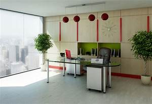 dazzling idea of small office designs with visible glass With decoration bureau professionnel design