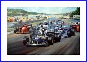 Iban Berechnen Formel : poster mit autogramm david coulthard erster formel 1 sieg estoril 1995 williams ~ Themetempest.com Abrechnung