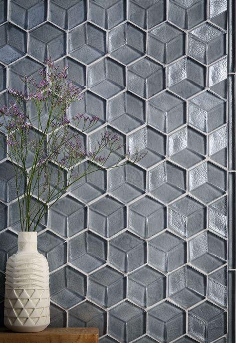 glass tile tile interior design tozen tile feature