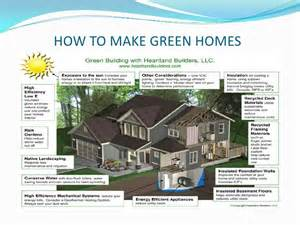 house plans modern ppt green