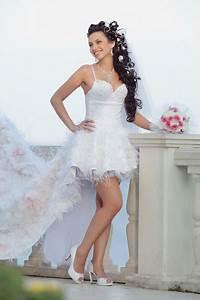 very short wedding dress With wedding dresses for short brides