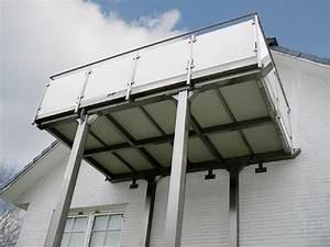 Balkon Mit Glas : bartz metallbau balkon vorstellbalkon aus edelstahl glas und aluminium bielefeld herford ~ Frokenaadalensverden.com Haus und Dekorationen
