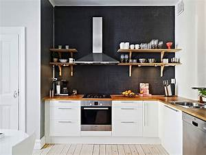 25 amazing minimalist kitchen design ideas With kitchen cabinets lowes with black and white wall art sets