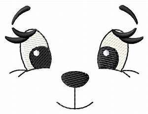 Teddy Bear Face Embroidery Designs, Machine Embroidery ...