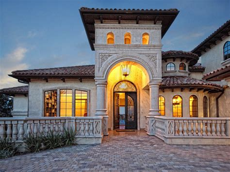 Exterior : 25 Stunning Mediterranean Exterior Design