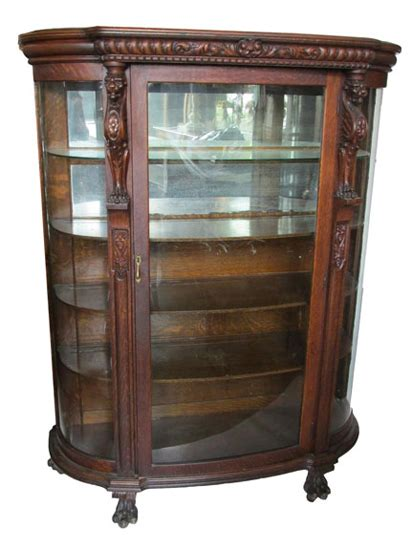 antique china cabinets 1800 s oak china cabinet circa 1900 wooden nickel antiques