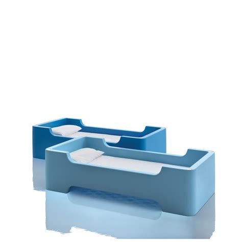 lit 224 une place lit superpos 233 bunky magis me bleu clair cerise sur la deco