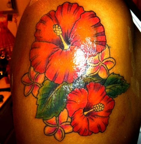 lovely flower tattoo designs