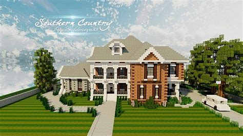 minecraft country house southern country house tmb wip minecraft project