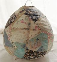 Best 25 ideas about paper lamp find what youll love paper mache lamp shades aloadofball Gallery