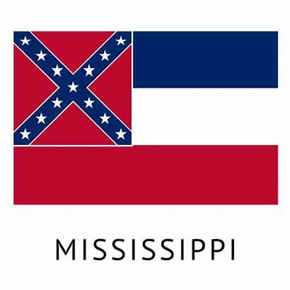 Mississippi Flag State Transparent Svg Vector Shirt