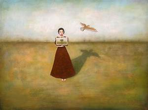 philosophical paintings in acrylic by duy huynh