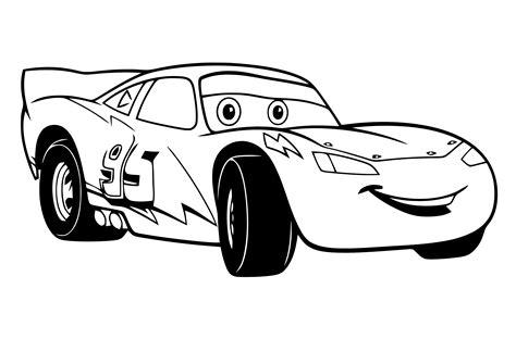 Kleurplaat Lightning Mcqueen by Kleurplaat Cars Pixar 2434