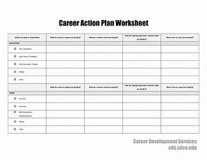 15 best images of my career worksheet career exploration With job search action plan template