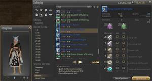 Ff14 Advanced Crafting Guide Part 3 Heavensward By