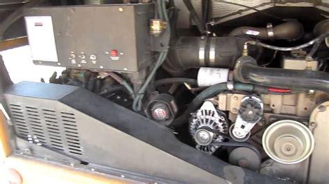 foot long thomas school bus  rear cummins engine