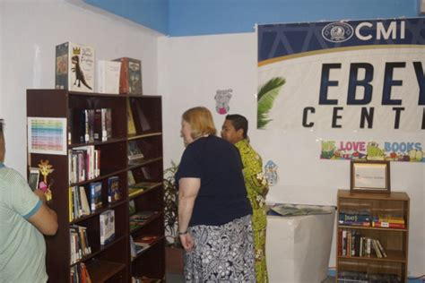 CMI Ebeye Center Library 'American Corner Handing Over ...