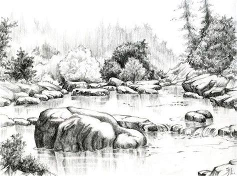 Beautiful Sketches Nature Ideas About Pencil