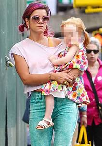 Lily Allen reveals her TWO-YEAR-OLD daughter has already ...