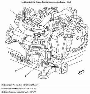 Service Manual  2003 Cadillac Escalade Esv Secondary Air