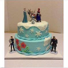 Frozen Figure Glitter Isi 6pcs elsa disney frozen dress cake it uses two cakes a