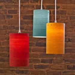 Wood Veneer Pendant Light Fixtures