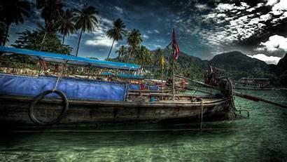 Wallpapers Jamaica Desktop Boat Hdr Negril 4k