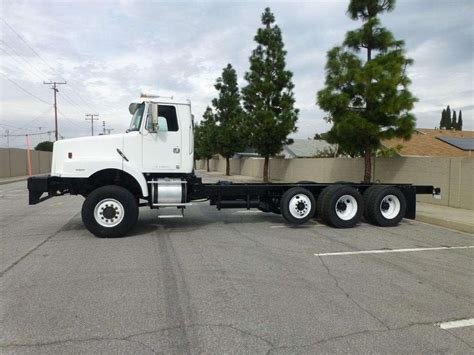 used volvo heavy duty trucks sale 1999 volvo wg64 heavy duty cab chassis truck for sale