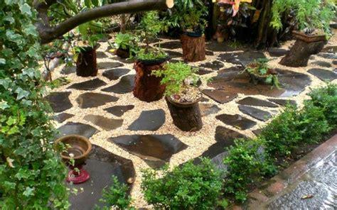 garden decorating ideas  rocks  stones