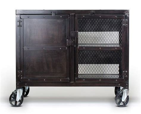 industrial liquor cabinet crafted small industrial media wine cabinet tv stand