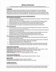 Example A Good Resume Sample