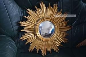 Runder Spiegel Holz : barock antik wandspiegel spiegel sonne runder spiegel in gold ca 45 x 45 cm ~ Indierocktalk.com Haus und Dekorationen