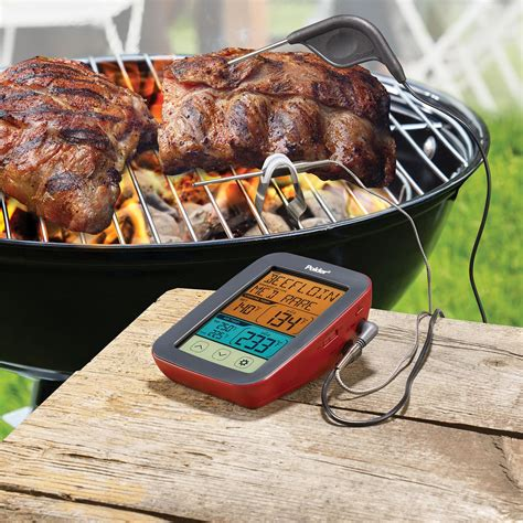 digital bbq smoker thermometer polder products life