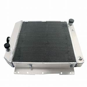 4 Row Aluminum Radiator For 1958 Chevy Impala  Biscayne