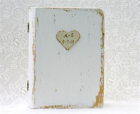 personalized wedding ring book box ring bearer wedding