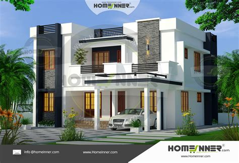 bedroom contemporary ultra modern house plans  sq ft
