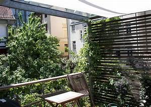 Sichtschutz Am Balkon : schattiger balkon mit sichtschutz glasdach und sonnensegel ~ Sanjose-hotels-ca.com Haus und Dekorationen
