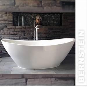 Freistehende Acryl Badewanne : bernstein design badewanne freistehende wanne bellagio acryl armatur ebay ~ Sanjose-hotels-ca.com Haus und Dekorationen