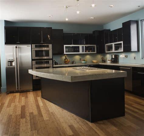 cuisine ilot centrale design cuisine moderne avec ilot central