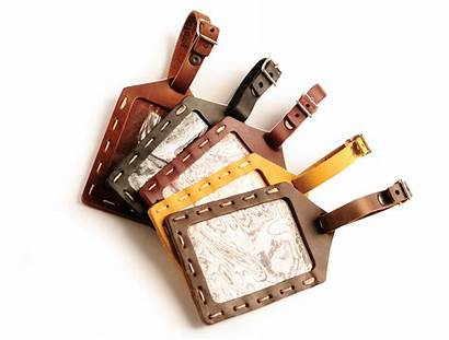 Tag Luggage Hand Sewn Tags Rustic Leather