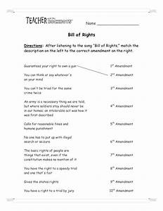 Bill Of Rights Worksheets. Worksheets. Releaseboard Free ...