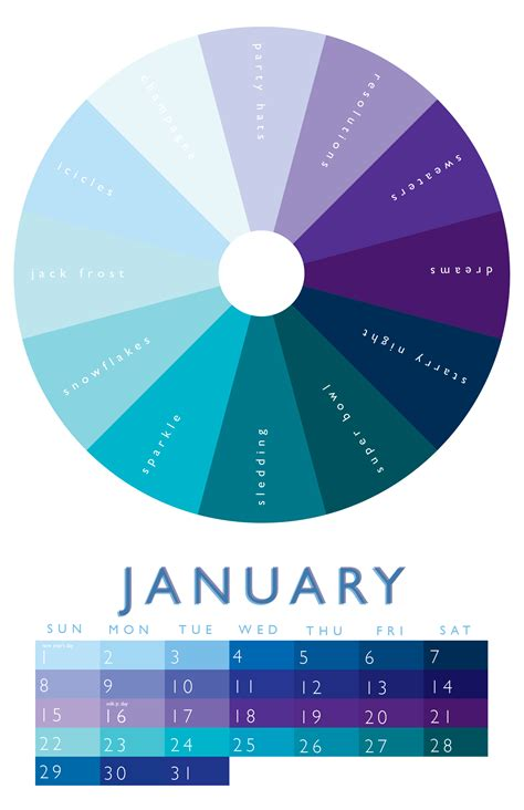 february colors january this maybe use paint chips i paint