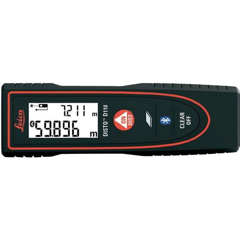 leica geosystems d110 laser range finder bluetooth data logger app from conrad electronic uk