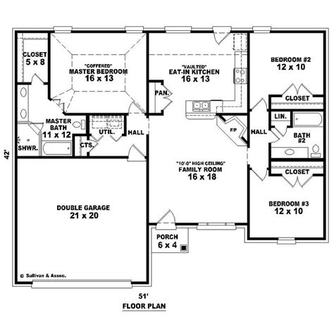 traditional french house plans home design su   ft